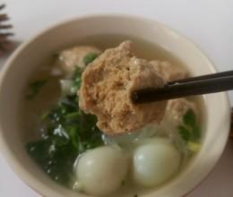 肉丸粉丝汤