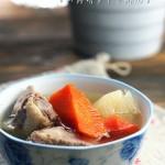 山药胡萝卜仔排汤