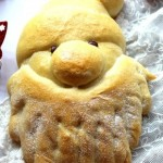 圣诞老人红薯面包