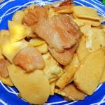 冬筍燒豬肉片