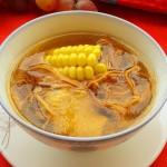 虫草花玉米鸡汤