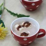 巧克力牛奶棉花糖热饮