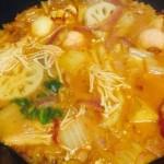 泡菜五花肉火锅