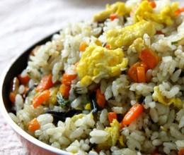 榄菜蛋炒饭