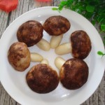 香菇豆沙包