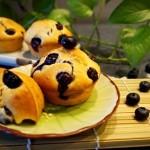 酸甜可口的蓝莓马芬