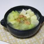 白菜冻豆腐汤