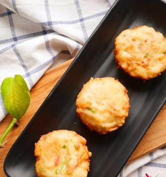 记忆中的味道-香酥萝卜丝虾饼