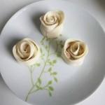 玫瑰花形饺子