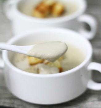 奶油蘑菇汤