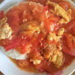 西红柿鸡蛋盖饭