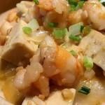 老豆腐鲜烩虾仁