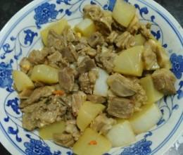 羊肉炖萝卜