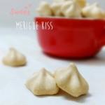 Merigue Kiss——法式烤蛋白糖