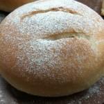 马苏里拉芝士培根黑麦包