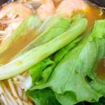鲜虾菌菇米线