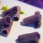 紫薯萝卜卷