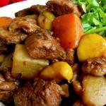 酱焖栗子羊肉