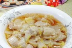 白菜煮鲜虾小馄饨