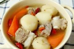 排骨马蹄汤