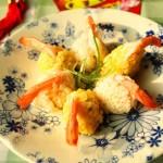 凤尾虾金银炒饭