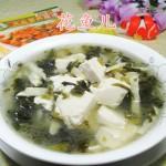 雪菜冬笋豆腐汤