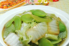 莴笋炒白菜