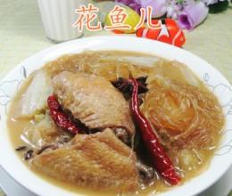 中翅白菜煮粉丝