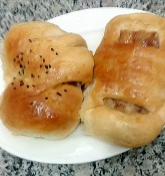 奶酪培根面包
