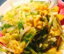 韭黄炒土鸡蛋