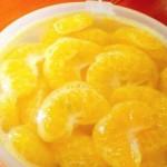 糖水桔子罐头