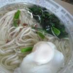 菠菜火腿熱湯面