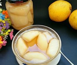 糖水梨罐头