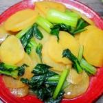 菜心炒土豆片