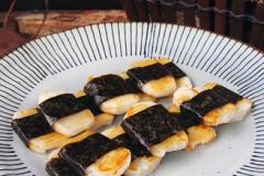 #六月鲜#海苔烤年糕