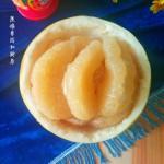 巧剥柚子皮