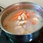 胡蘿卜羊肉湯