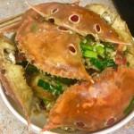 蒜香梭子蟹