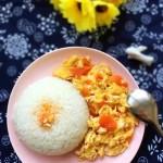 西红柿鸡蛋盖浇饭