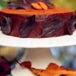 巧克力落葉蛋糕