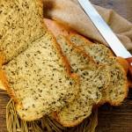 黑芝麻面包(面包机版)