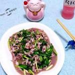韭菜炒海兔