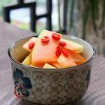 開胃酸辣木瓜片