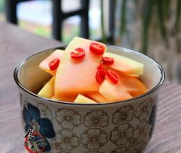 开胃酸辣木瓜片