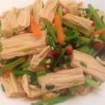 开胃菜--凉拌腐竹