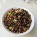 芽菜炒肉末