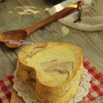 紫薯大理石戚风蛋糕