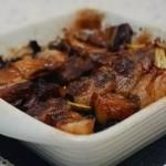烤箱版五花肉针蘑(自创菜谱)