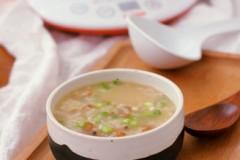 金钩海米粥