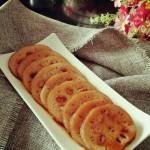 红豆糯米藕